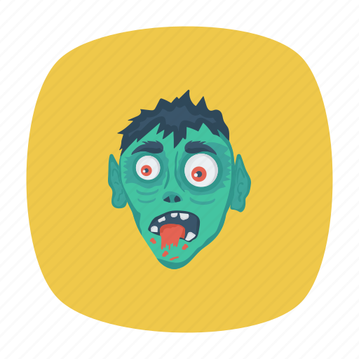 face, ghost, scary, spooky icon