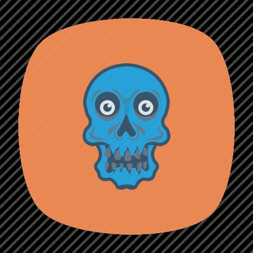danger, ghost, halloween, skull icon