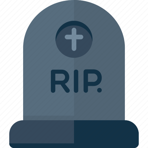 cemetery, dead, death, funeral, halloween, rip icon