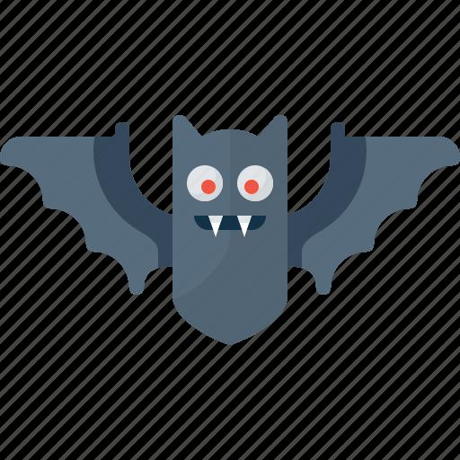 bat, blood, fly, halloween, vampire icon