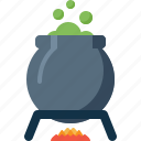 boiler, halloween, holiday, pot, potion, witch icon