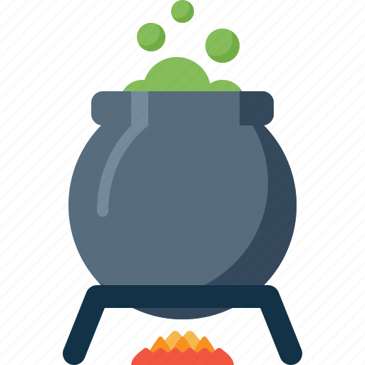 Boiler, halloween, holiday, pot, potion, witch icon - Download on Iconfinder