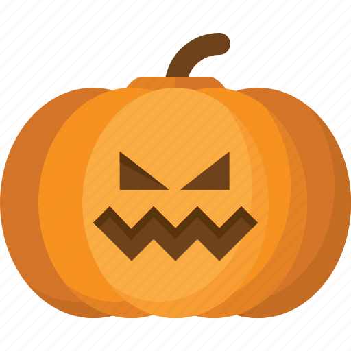 halloween, holiday, jack lantern, orange, pumpkin, vegetable icon