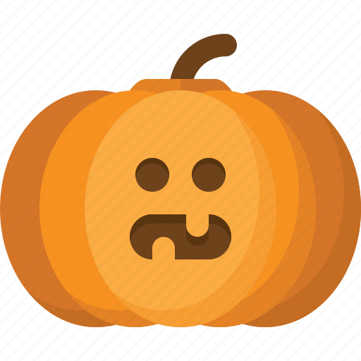 halloween, jack lantern, orange, pumpkin, vegetable icon