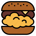 burger, chicken, fast, food, junk