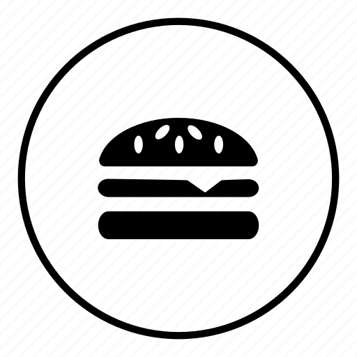 burger, cheeseburger, eat, eating, food, hamburger, meal icon