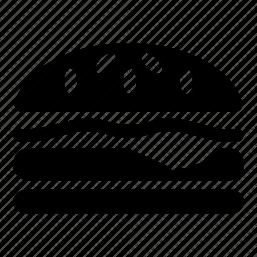 Burger, cheeseburger, eat, eating, food, hamburger, meal icon - Download on Iconfinder