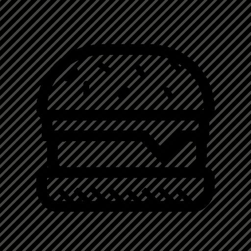 burger, cheeseburger, cookout, grill, hamburger, picnic icon