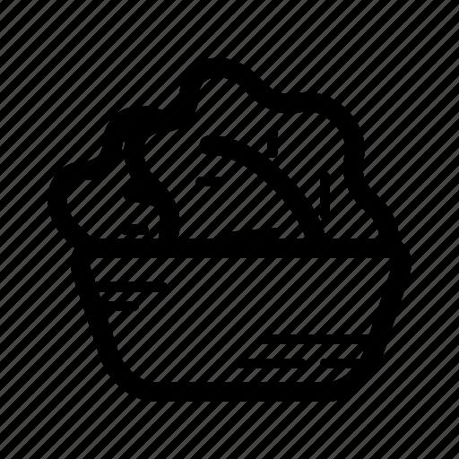 Bowl, burger, hamburger, salad icon - Download on Iconfinder