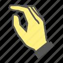 knock, finger, gesture, hand