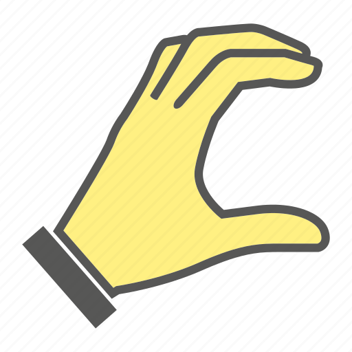 finger, gesture, hand, pick icon