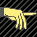 gesture, index, finger, pointing, hand