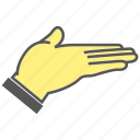 beg, finger, gesture, hand, plead icon