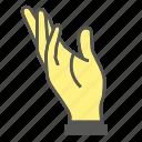 finger, gesture, hand
