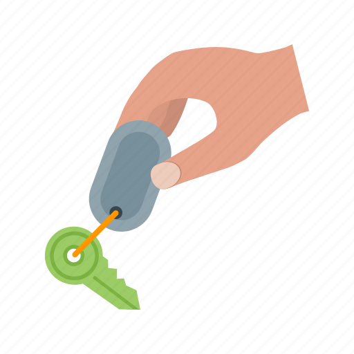 car, hand, holding, house, key, keys, security icon