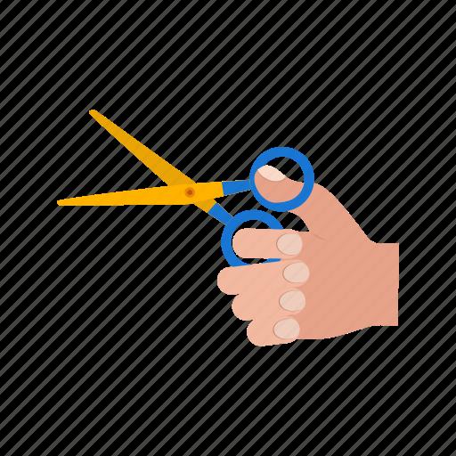 cut, inauguration, object, ribbon, scissors, steel, tool icon