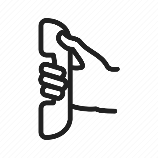 call, communication, contact, craddle, landline, phone, talk icon