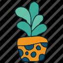 art, cactus, hand draw, succulent