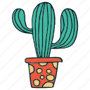 cactus, drawing, hand draw, succulent