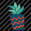 cactus, hand draw, succulent