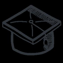 academic, academy, cap, education, graduate, graduation, handdrawn, knowledge, learning, school, student, teach, teaching, university icon