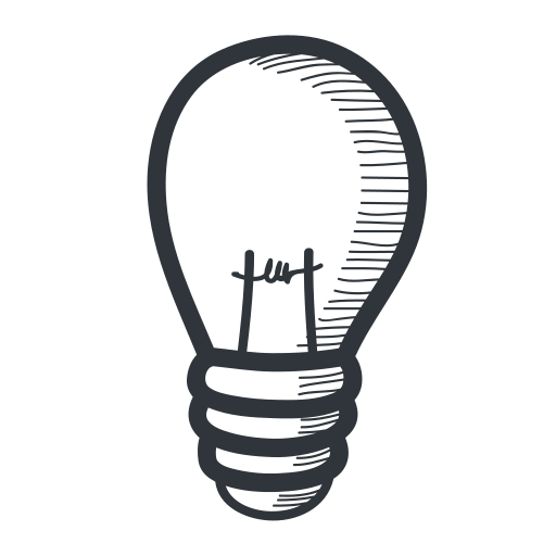 academic, academy, bulb, education, electricity, energy, handdrawn, idea, knowledge, lamp, learning, light, lightbulb, power, school, science, student, teach, teaching, university icon