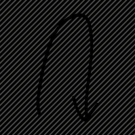 arrow, doodle, drawing, drawn, hand, sketch, sketchy icon