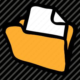 catalog, directory, folder, full, full folder icon