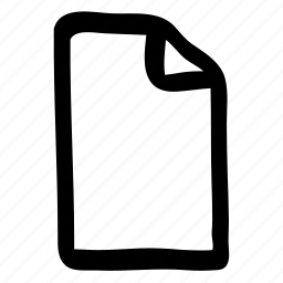 file, paper, sheet icon