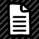 file, full, full file, paper, sheet