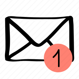 communication, mail, message, new message, one icon