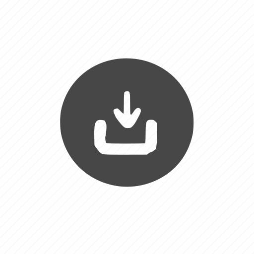 download, hollow icon
