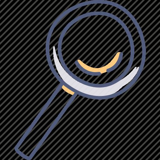 discover, find, lost, search icon