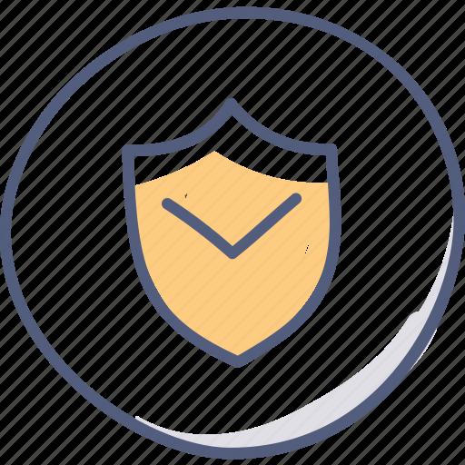 asset, guard, lock, protect, shield icon