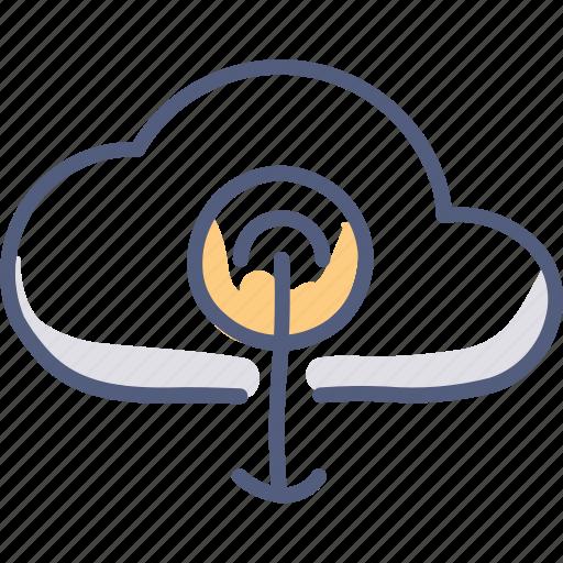 asset, cloud, download, upload icon