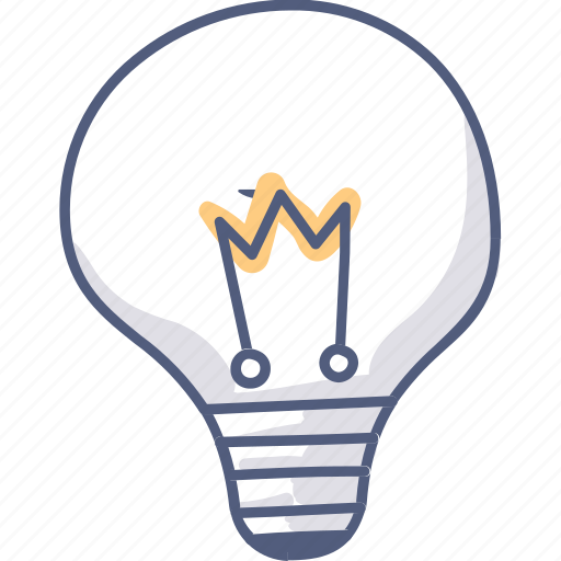 asset, bulb, electricity, idea, light, think icon