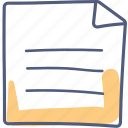 asset, document, form icon