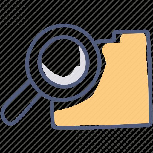 find, folder, lost, search icon