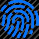 finger, fingerprint, gesture, hand, identify, print