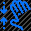 action, fingers, five, gesture, hand, interactive, pinch
