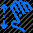 action, fingers, five, gesture, hand, interactive, spread