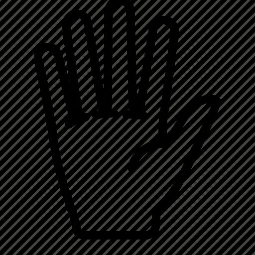 destiny, fate, gesture, hand, palm icon