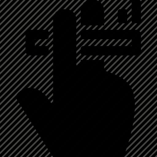 cigarette, fingers, hand, smoke, smoking icon