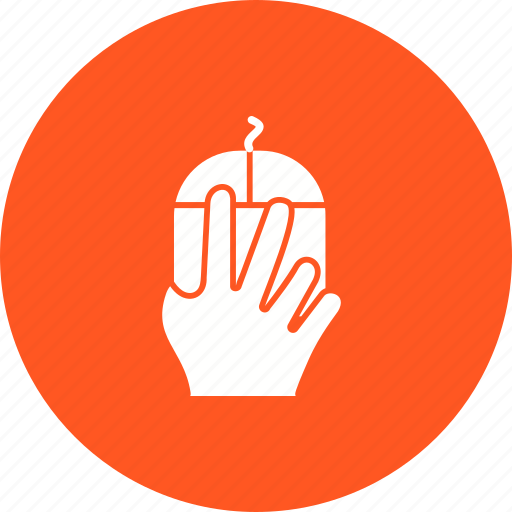 click, cursor, finger, hand, mouse, scroll, swipe icon