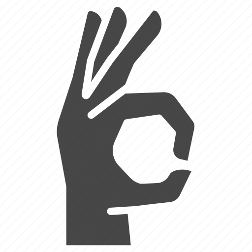 agree, deal, fingers, gesture, hand, ok, sign icon