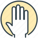 gesture, gestures, hand, pointer icon