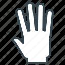 five, gesture, hand, high