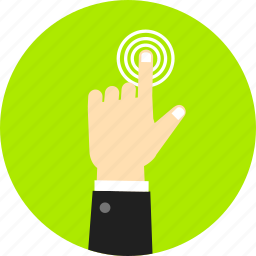 center, finger, gesture, navigation, swipe, tap and hold, touch icon