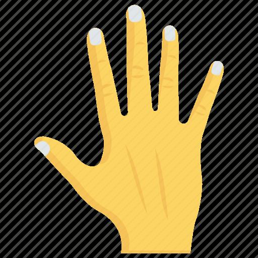 block, fingers, gesture, hand, stop icon