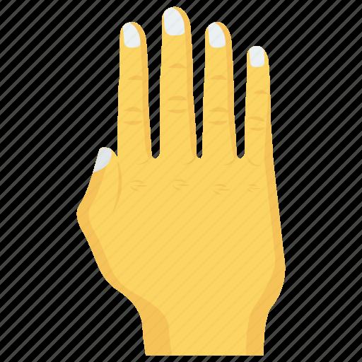 block, finger, gesture, hand, stop icon